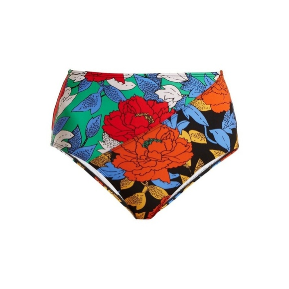 4893558d759e4 Diane Von Furstenberg Swim | Dvf Paneled Cheeky High Waisted Bikini ...